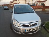 Vaxuhall zafira 2008, automtic 7 seater for sale