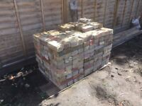 London Stock Bricks, yellow, reclaimed - approx 310 bricks
