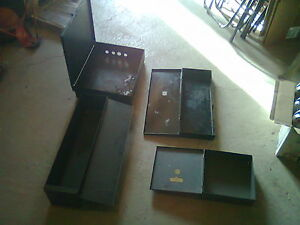 3  METAL ELECTRICAL BOXES