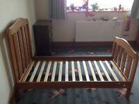 Mamas & Papas Beech Cot Bed