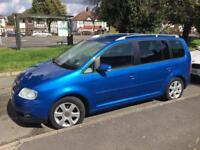 VOLKSWAGEN TOURAN 2.0 MPV SPORT TDI/AUTOMATIC /DIESEL /7 SEATER/ LONG MOT/ CHEAPEST IN COUNTRY £2295