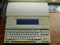 Canon Starwriter 400 word processor WANTED