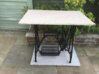 Federation sewing machine table