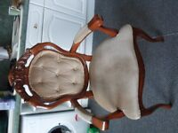 queen anne replica chair