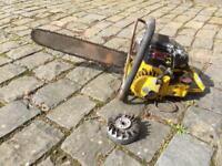 Danarm vintage chainsaw