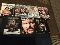 WWE BOX SETS X 7