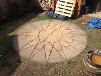 Sundial Patio slabs/hardcore