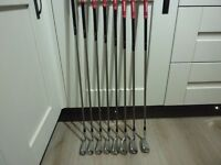 Taylor Made R7 TP Irons / Graphite Shafts Super Condition / Full Set 3- PW