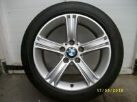 "bmw f30 f31 17"" allow wheel 393 with 225/50/17 pirelli p7 runflat tyre 5.5mm"