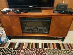 Electric Fireplace never used