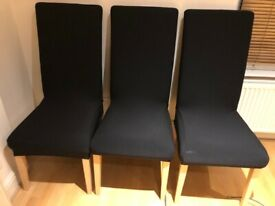 Three big chairs