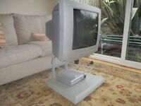 Phillips TV, digibox and stand