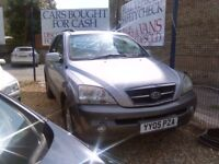 2005 kia sorento 2.5 diesel 105.000 miles 2 owners from new August 2018 mot full service history
