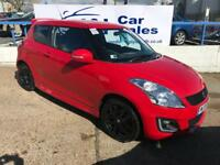 SUZUKI SWIFT 1.2 SZ4 3d 94 BHP A GREAT EXAMPLE INSIDE AND OUT (red) 2015