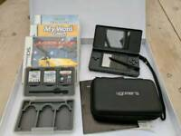Nintendo DS Lite Black GREAT CONDITION w/ Accessories + 3 BOXED GAMES