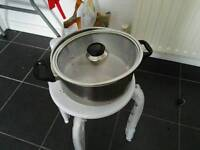 big stainless steel pot