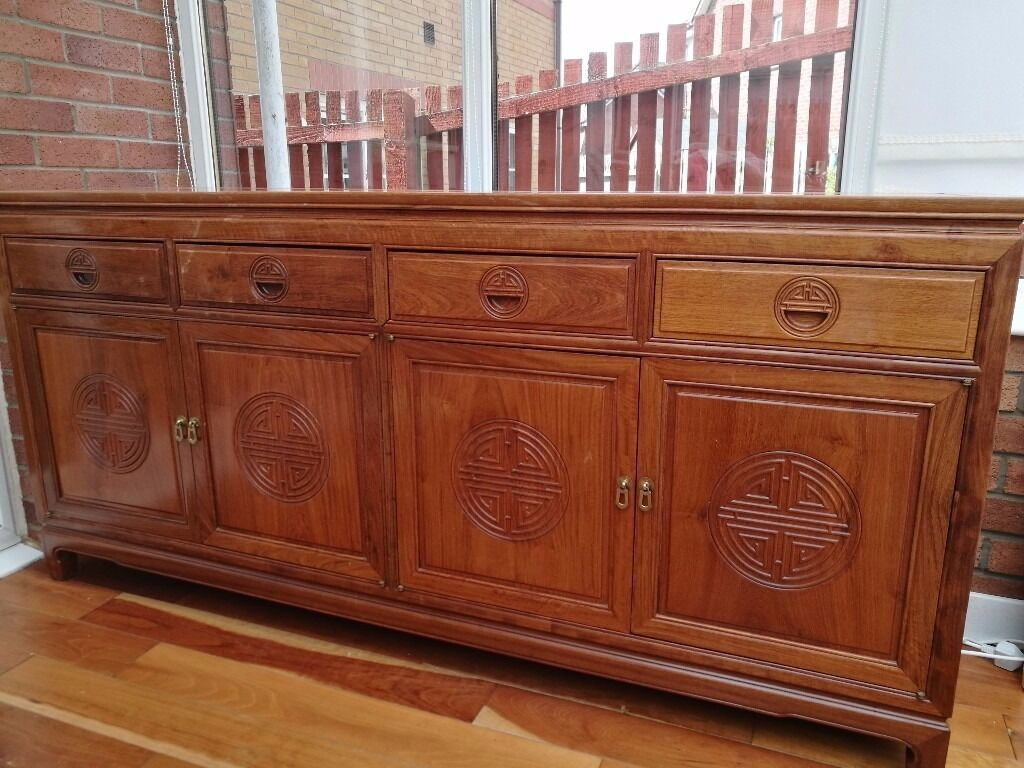 Chinese Rosewood Sideboard In East Kilbride Glasgow