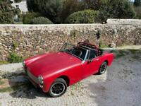 MG Midget, 1275, TWIN CARB, RWA, 1973, HILL CLIME
