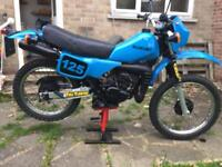 Ts125er full resto/overhaul