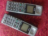 BT 2000 Land-line phone, 2 handset set