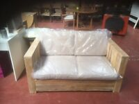 PIERRE 2 SEATER GARDEN OR CONSEVETRY SOFA.