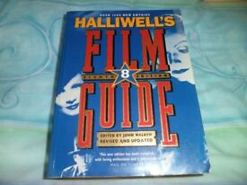 HALLIWELL'S FILM GUIDE 8TH EDITION.