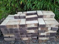 100+ Brindle bricks, ideal for new project or matching existing bricks