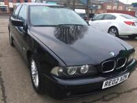 Bmw525i auto 2002 sat nav full option very clean 1 owner 93k