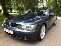 BMW 735i with 81,000 miles. Good condition for age, with a few details. MOT for a few months left.