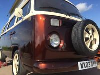 VW T2 BAY WINDOW BRAZILIAN IMPORT,2003,SHOW CAMPER IN ROOT BEER CANDY! REDUCED BY £5000! SEE VIDEO!