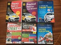 3 Driving theory books & 3 hazard perception CD