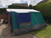 For sale fantastic Royal Camping 6 man walk in canvas family tent.