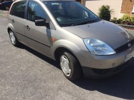 Ford Fiesta 1.2 Petrol 5 Door, Clean condition New battery, almost 13 months mot