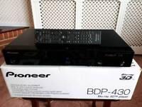 PIONEER BDP-430 BLURAY PLAYER