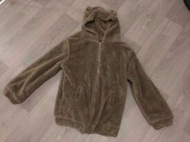 Unique Teddy bear hoodie size M
