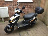DIGITA 50cc MOPED 4stroke 15reg SPARES OR REPAIRS EASY FIX