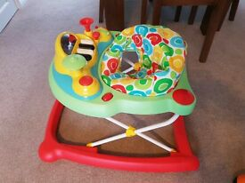 mothercare baby walker for sale