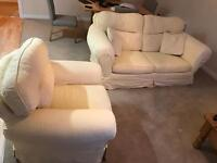 Laura Ashley Sofa bed and armchair