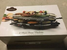 Raclette set for 8 people - Great fun
