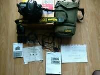 Nikon d800 body ( 36.6 ml pixels )with bag low shutter count