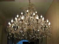 Truely Magnificent ~ 30-Arm 3-Tier Crystal Absolutely Massive Chandelier