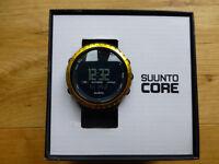Suunto Core Black/Yellow Outdoor Sports Watch