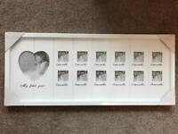 My First Year Photo Frame - Brand New