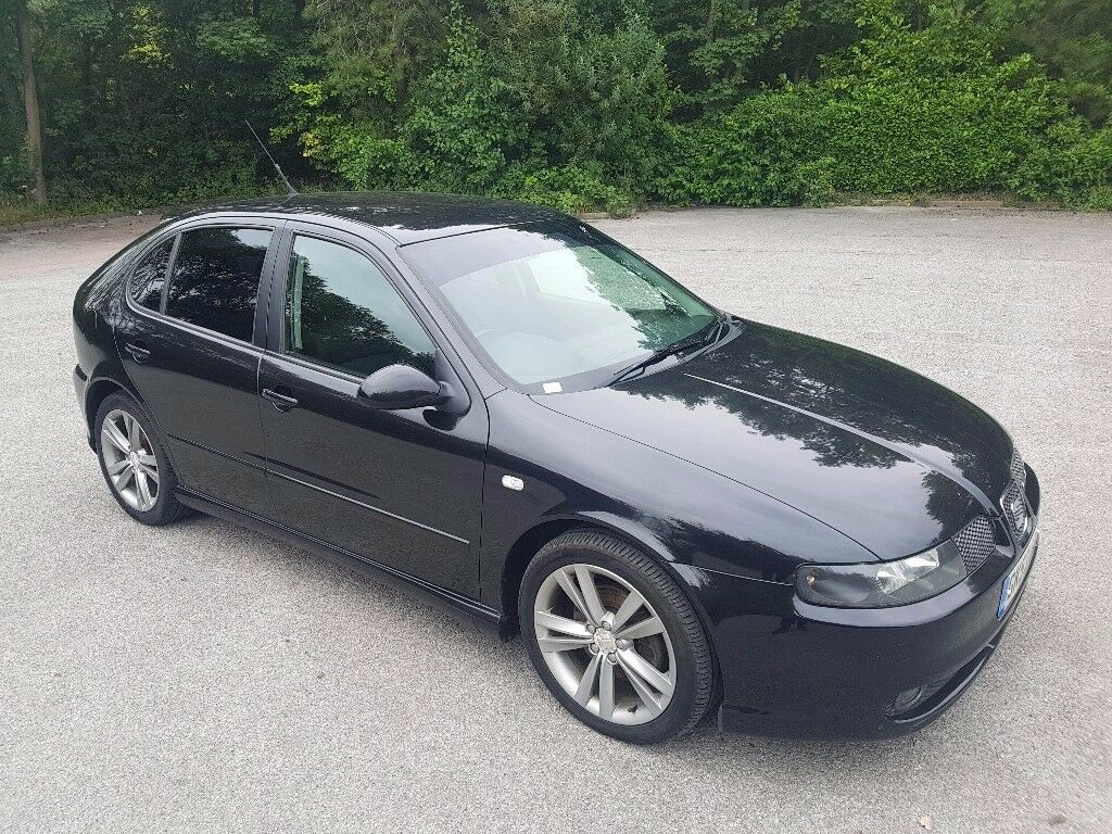 2003 seat leon cupra 1 9 tdi 150 bhp 5 door hatchback black 1 owner from new in denholme west. Black Bedroom Furniture Sets. Home Design Ideas
