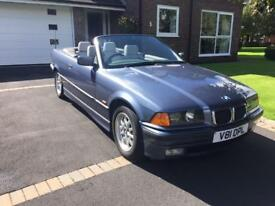 BMW 323i Convertible genuine 40,000miles