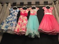 Dresses age 7/8/9 new/as new