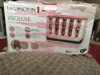Remington heated rollers