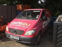 Mercedes Vito lwb spares or repairs