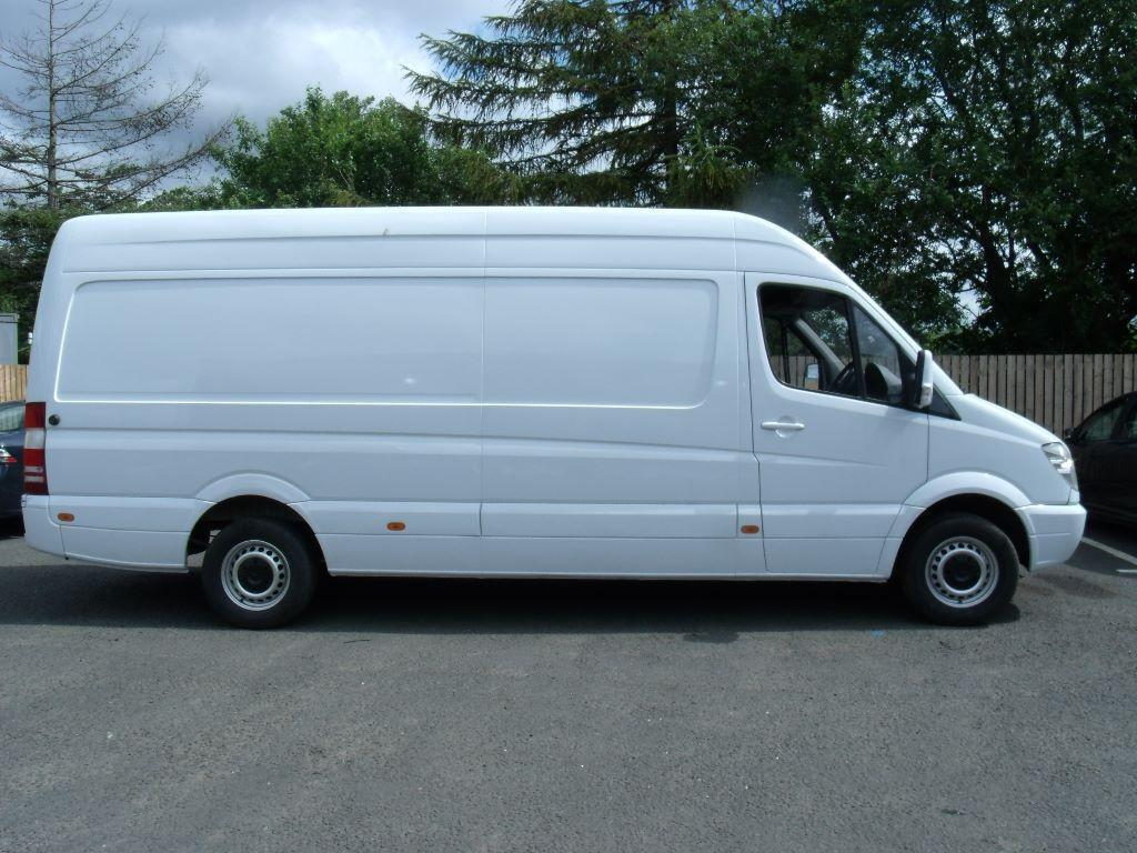 mercedes sprinter 311cdi lwb hi top in rutherglen. Black Bedroom Furniture Sets. Home Design Ideas