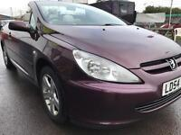 2004 Peugeot 307 CC CONVERTIBLE LOW MILES **cards accepted**